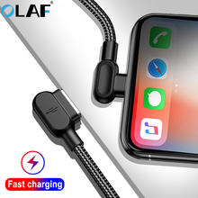 OLAF Micro USB Type C Cable 90 Degree Fa