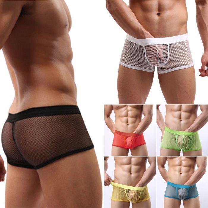 Aliexpress.com : Buy Best 6 color transparent Sexy Men THIN Mesh ...