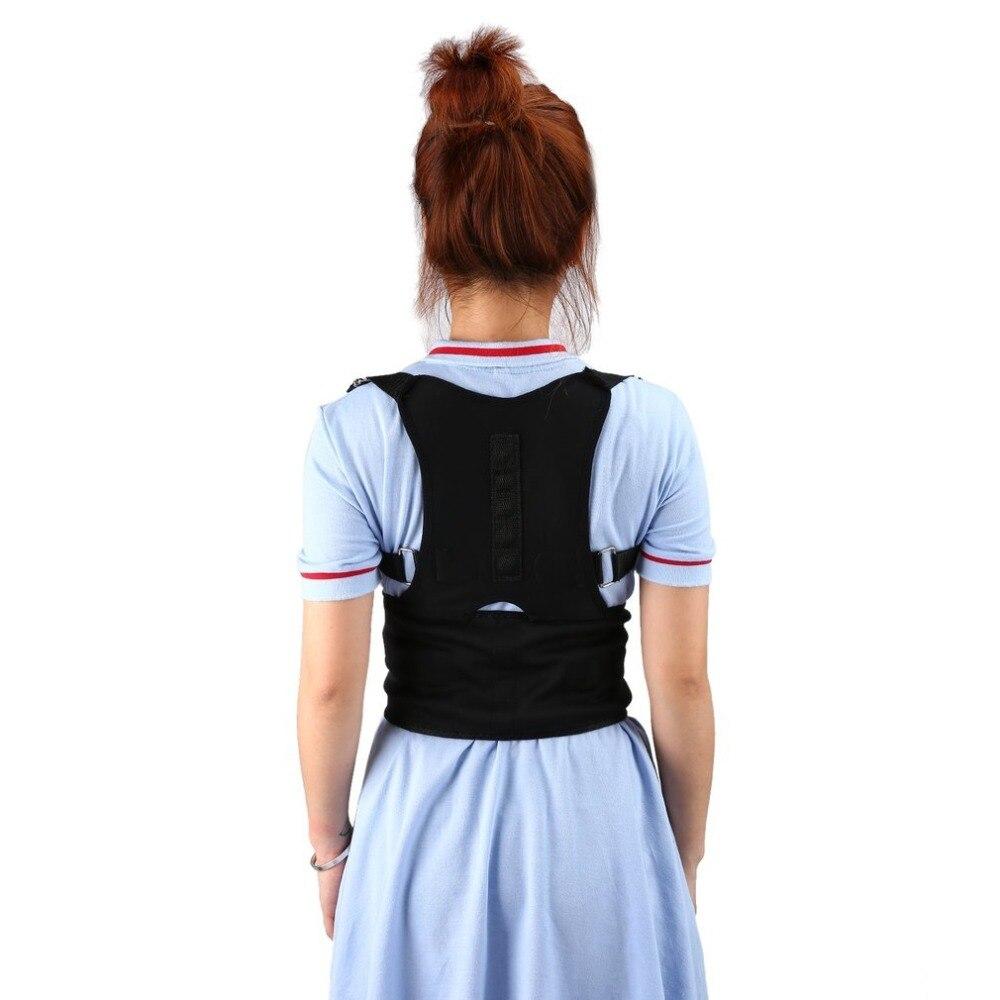 Comfortable Adjustable Men Women Posture Corrector Corset Back Support Brace Shoulder Back Belt Lumbar Support