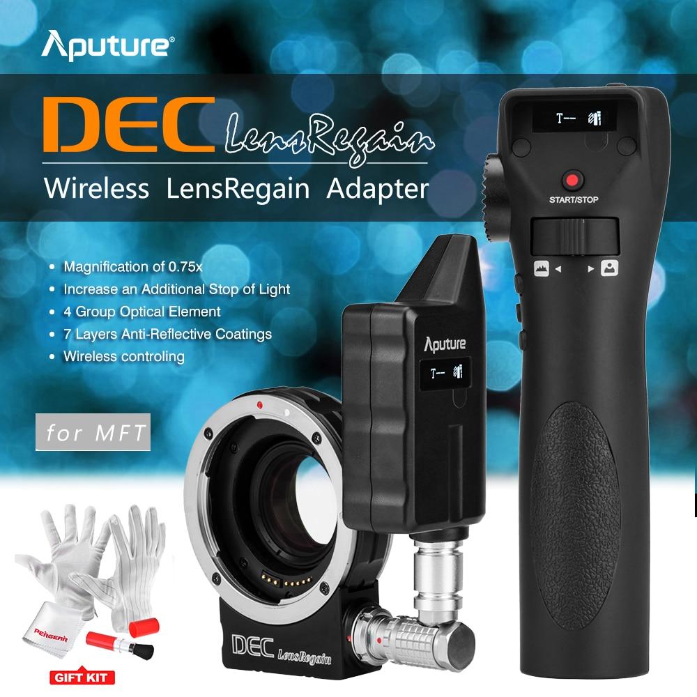 Aputure DEC LensRegain Lens Adapter  Wireless Follow Focus Aperture Control for Canon EF Lens to Micro Four Thirds Mount Camera aputure адаптер беспроводной адаптер dec mft линзы дистанционного контроля за за внимание к ее горе canon ленс