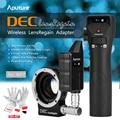 Aputure diciembre lensregain lente adaptador wireless follow focus control de apertura para canon ef lente para micro cuatro tercios cámara