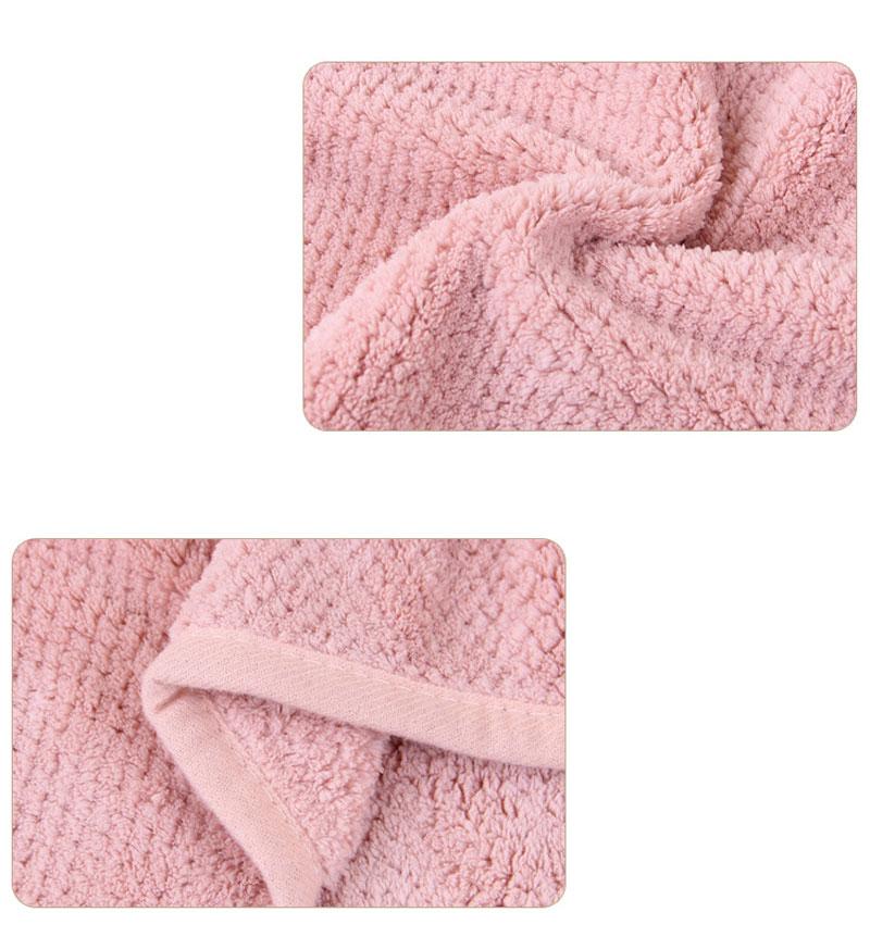 GIANTEX Japanese Polyester Cotton Women Bathroom Super Absorbent Quick-drying Bath Towel Hair Dry Cap Salon Towel 23x60cm U1031 15