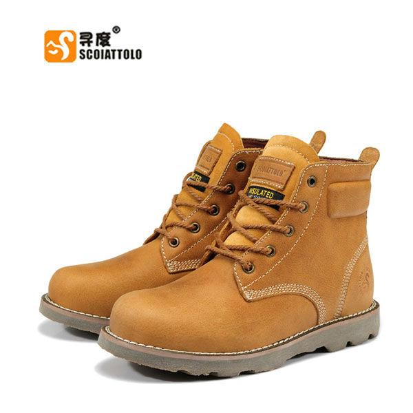 Aliexpress.com : Buy Free Shipping Rubber Sole SCOIATTOLO Leather ...