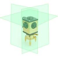 LETER 12 зеленый настенный инструмент 3D зеленый лазерный уровень света Высокоточный LD электронный Выравнивающий литиевый