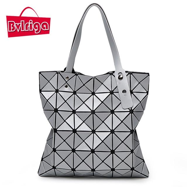 BVLRIGA Lattice laser bag luxury handbags women bags designer handbags high quality summer shoulder bags large capacity bolsos