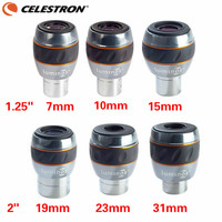 Celestron Luminos 1.25 7mm 10mm Eyepiece 82 Degree Wide Angle Fmc Astronomical Telescope Accessories