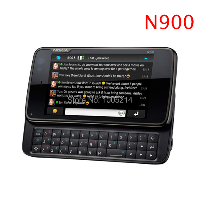 Refurbished Nokia N900 original unlocked phone GPS WIFI 5MP 32GB internal memory support Russian keyboard