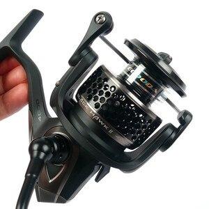 Image 2 - Бесплатная доставка, металлическая катушка ECOODA Black hawk EBH II 1500 5000 второго поколения для спиннинга, Рыболовная катушка 11Bear