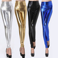 E254 Multi-color Optional Fashion Tall Waist In Europe And The Light Leather Pants Leggings