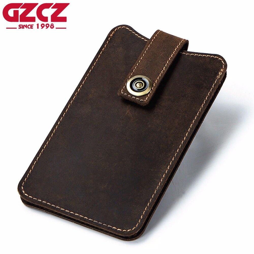 Mens Wallet Leather Genuine Kashelek Male Cuzdan Portomonee Luxury Brand Phone Vallet Handy Money Bag Large Capacity Perse