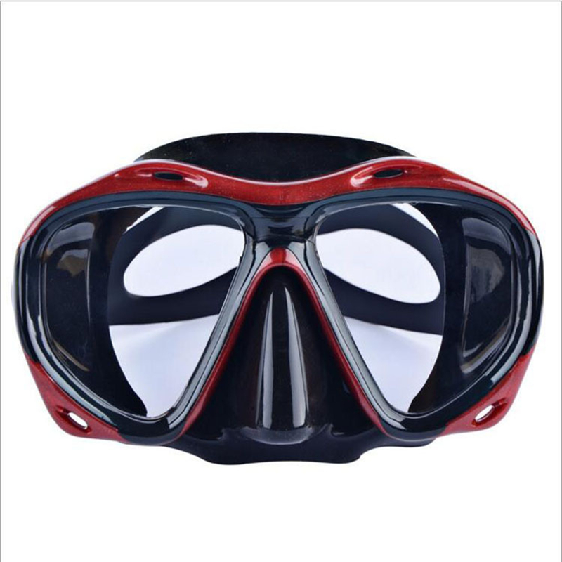 Adults Diving Mask Snorkeling Underwater Eyewear Silicone Wide View Freediving Swimming Goggles Diving Equipment for Men Women in Diving Masks from Sports Entertainment