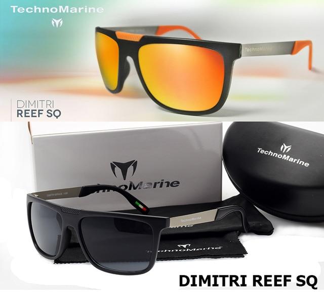 d52f39bbb3 2016 nueva moda TECHNOMARINE DIMITRI REEF SQ Sunglasses Men aire libre  deportes gafas De Sol UV400