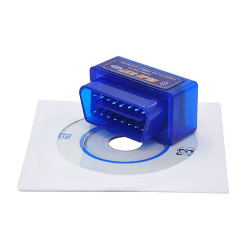 Prix pour 25 pcs Vente Chaude Auto OBD2 Outil ELM327 Bluetooth Auto Voiture Lecteur de Code Scanner V2.1 Sans Fil Android/PC ELM 327 Livraison Gratuite