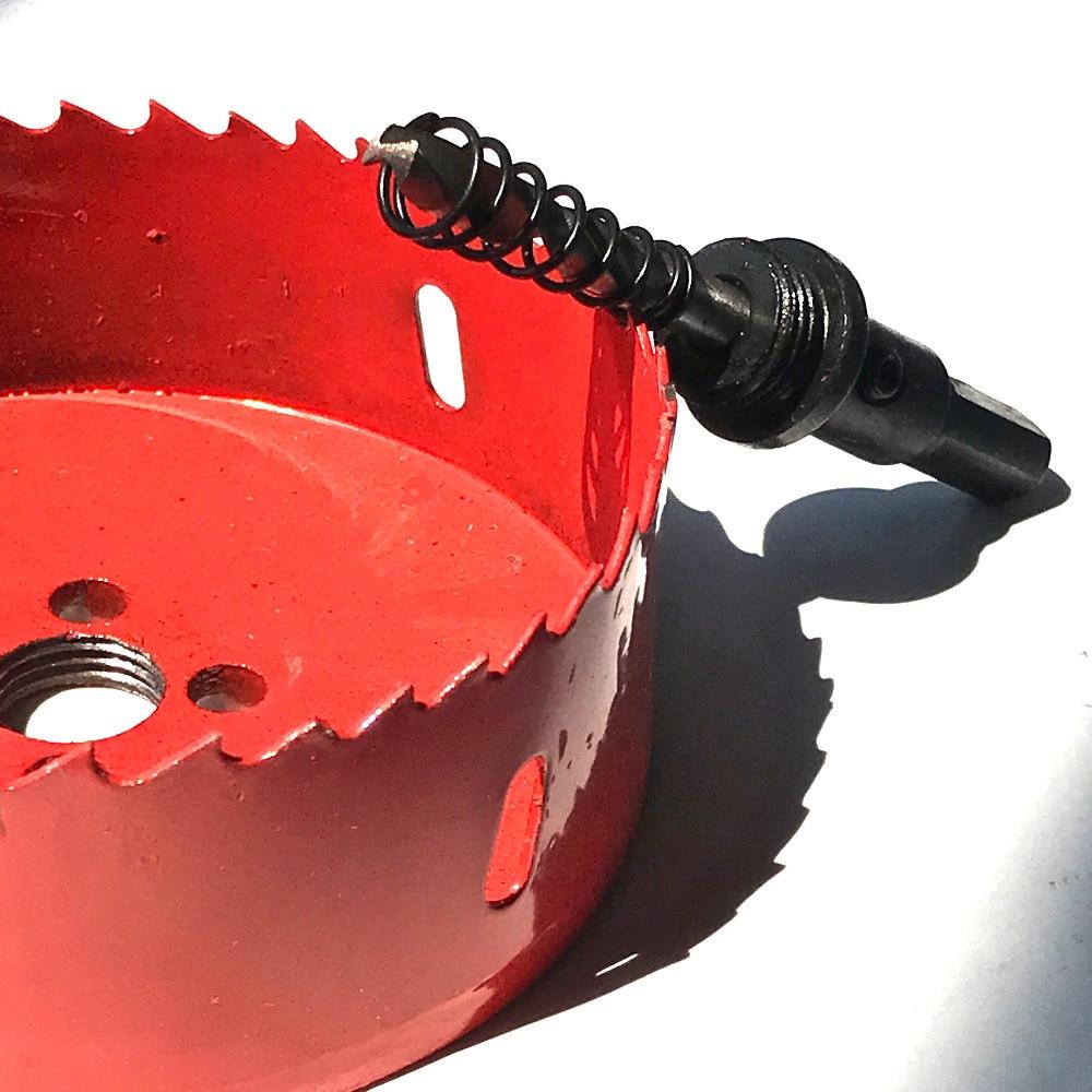 Envío gratis 1 unid 105-170mm HSSM42 hizo Bimetal agujero sierra - Broca - foto 2