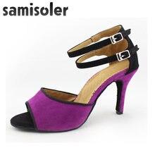 Samisolersalsa/Обувь для латинских танцев; женская Обувь бальных