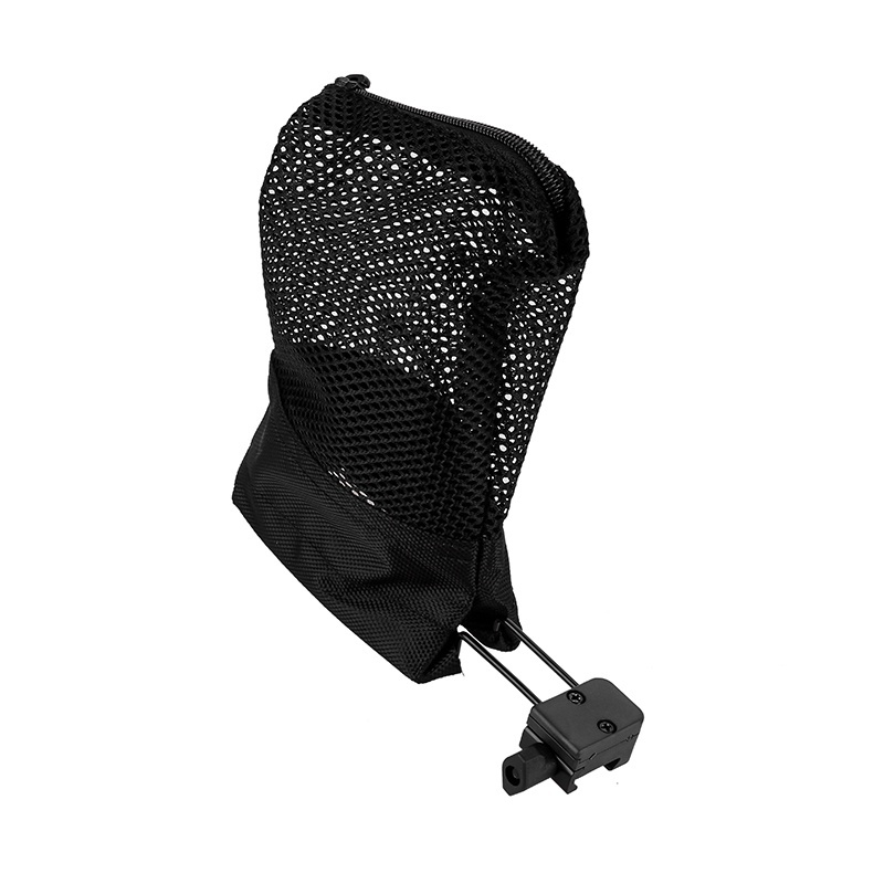 Tactical Quick Detach Zipperd Brass Shell Mesh Bag Catcher Range Hunting Trap IT
