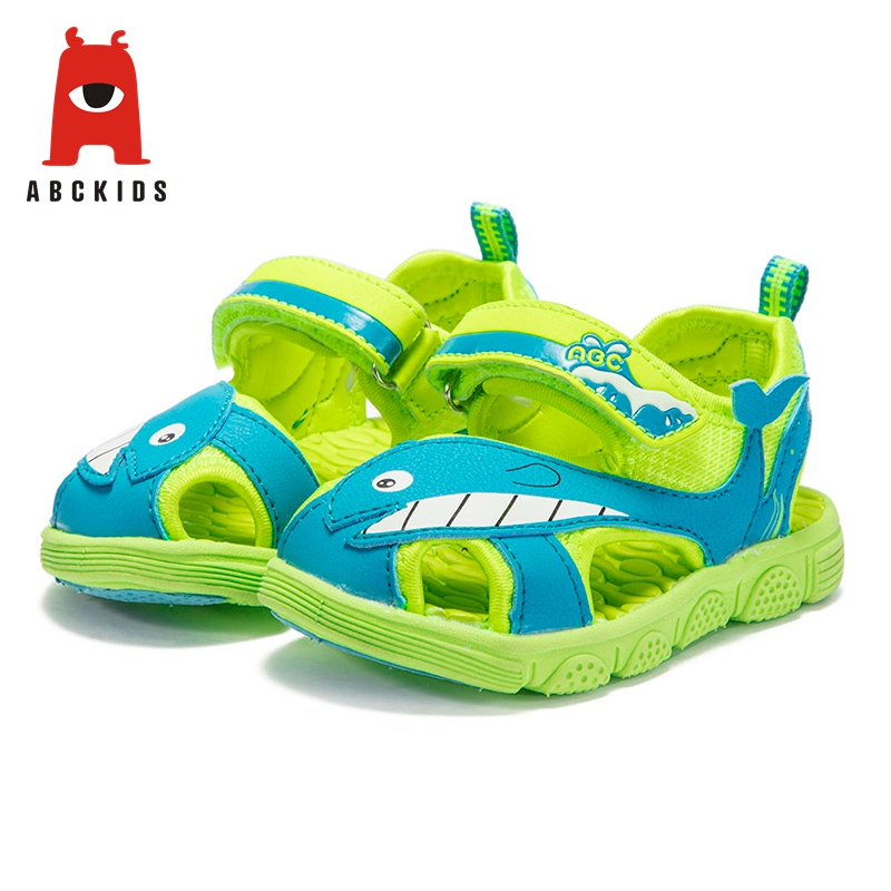 ABC KIDS Baby Girl Soft Soled Summer Animal Print Sandals Casual Breathable Anti-slip Shoes