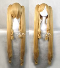 Top quality MIKU hair accessories 680g 120cm synthetic hair jewelry for Warrior girl cosplay wigs