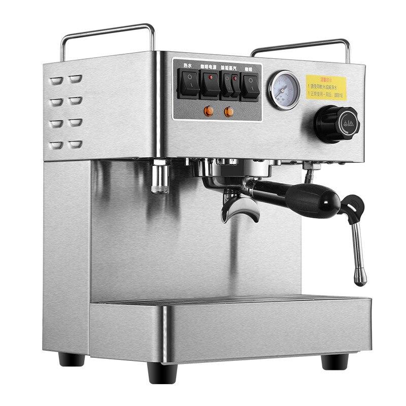 Bureau commercial Machine À Café Expresso Entièrement Automatique 3000 w Vapeur Haute Pression Cafetière Italienne