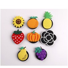 3D Cute Fruit Universal mobile phone bracket Air Bag Phone Expanding Stand Finger Holder pineapple phone holder Stand(China)