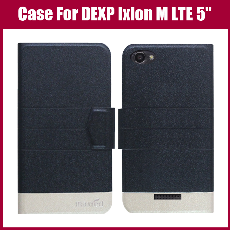"""Pouzdro DEXP Ixion M LTE 5 """"nové příchozí 5 barev Módní Flip Ultra tenký kožený ochranný obal pro pouzdro DEXP Ixion M LTE 5"""""""