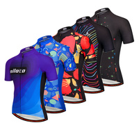 2018 Customized Cycling Jerseys Road Mtb Pro Bicycle Clothing Men Wear Bike Short Sleeves Jersey Maillot