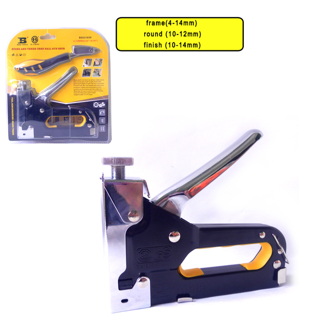 Populair wholesale price BS531839 Heavy Duty Rapid Upholstery Hand Staple YT05
