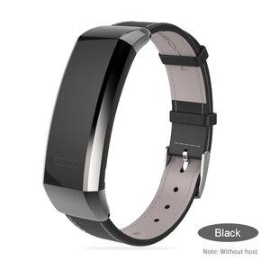 Image 4 - Mijobs pasek do Huawei Band 2 Pro B29 B19 zespół 2 akcesoria skórzany nadgarstek inteligentna bransoletka wielofunkcyjny inteligentny zegarek opaska