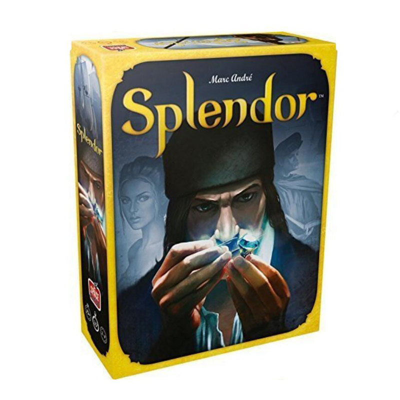 Splendor Board Game Financing Family Playing Cards Game Drinking Game Card High Quality Rubber Playmat 60X35 Cm