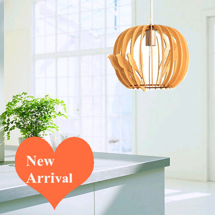 Classical modern design  Ply-Wood chips Chandelier handmade indoor E27 spherical led lamp for living room&gallery&cafe BT111-300 2016 creative novelty blue shade ply wood chips chandelier e27 led floral lamp indoor lamp for stairs