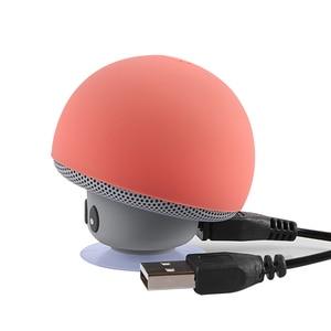 Image 4 - Mini altoparlante Bluetooth impermeabile fungo musica Wireless HiFi Stereo Subwoofer vivavoce per telefono Android IOS