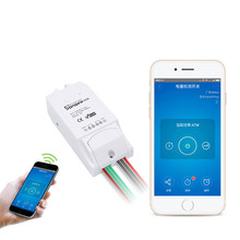 Date ITEAD Smart Switch Sonoff Pow Sans Fil WiFi Télécommande Intelligente Température et D'humidité Thermostat Module Maison Intelligente