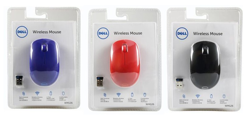 fcaaeee43b2 MAORONG TRADING 2.4Ghz Wireless Mouse optical mouse for dell computer  laptop desktop notebook pc wm126 mouse-in Mice from Computer & Office on ...
