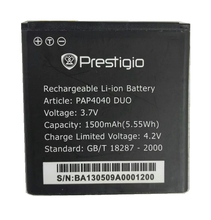 PAP4040 1500mah  Quality Mobile Phone Replacement Battery for Prestigio MultiPhone