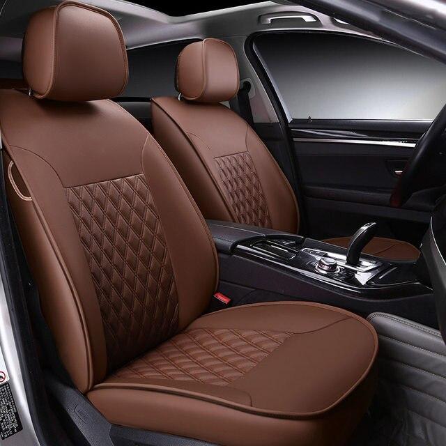 Custom Made Leather Car Seat Cover For Kia Soul Cerato Sportage Optima Rio Sorento K2 K3 K4 K5 Sorento Ceed Accessories Styling