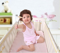 Newborn Crib Bumper Breathable Baby 3D Mesh Crib Liner Cot infant Bedding Sets Baby Bumper Bed Bedding Accessories