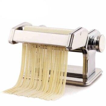 JZ73 Large Multi-function Manual Noodle Machine home Split Noodle Maker Stainless Steel Hand Pressure Dumpling Cover Machine