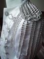 Костюмы для сцены размера плюс, Мужской Блейзер, черный и серебристый костюм диджея, облегающая одежда, мужские костюмы черного и белого цвета - фото