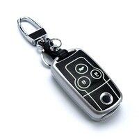Lumious Peacekey Car styling Key Pokrywy Skrzynka dla Honda Crv Krotnie odwróć Breloki Blasku W Ciemnym Breloczków Portfel kluczowym przypadku Pyłoszczelna