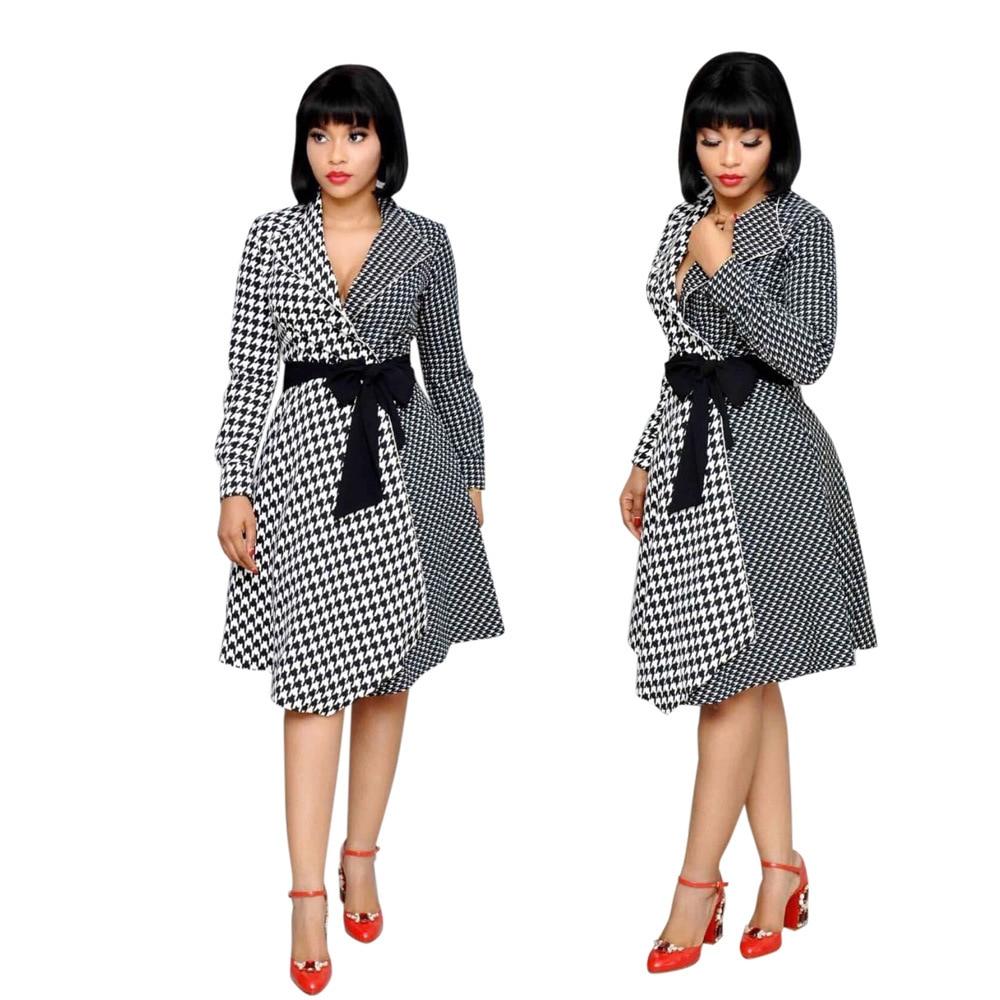 2019 African Women's Dashiki Printed Long Shirt Dress Size M L XL XXL