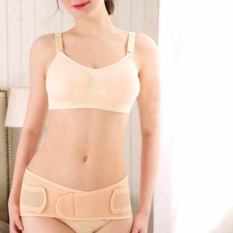 3 في 1 البطن/الخصر/الحوض بعد الولادة حزام الجسم الانتعاش ملابس داخلية الخصر سينشرز تنفس حزام تخسيس بعد الولادة مشد