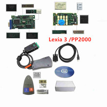 Lexia 3 V48 For Citroen/Peugeot Diagnostic Scanner Diagbox V7.83 Lexia PSA XS Golden PCB New Lite Version Lexia3 PP2000 V25 newest for renault can clip v166 lexia3 pp2000 diagbox v7 83 lexia 3 lexia 3 v48 pp2000 v25 obd2 diagnostic tool by dhl free