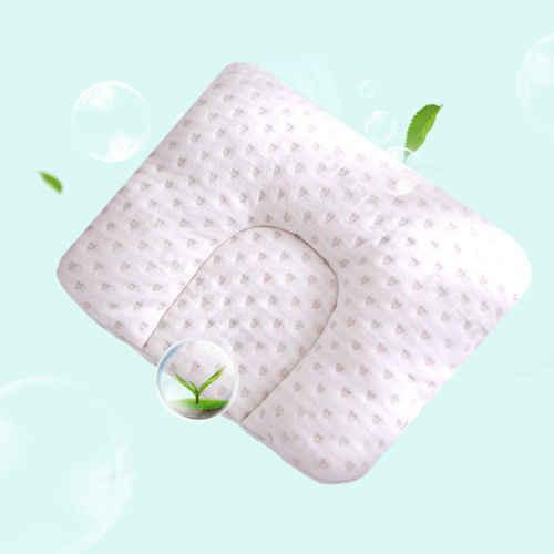 Мультяшный узор Подушка для младенца Удобная подушка предотвращает плоскую голову