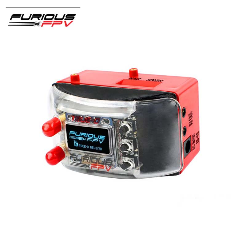FuriousFPV Dock-King FPV Ground Station & True-D Diversity Firmware V3.7D Combo For RC FPV Models Multicopter Goggles Parts