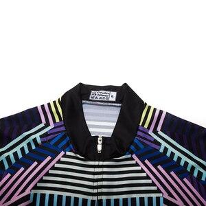 Image 4 - قميص قصير الأكمام للدراجة من Keyiyuan صيفي بنمط احترافي قميص من الجيرسيه