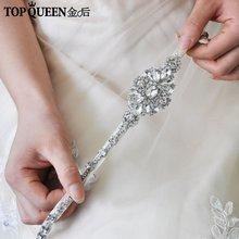 Свадебные аксессуары для волос topqueen h329 роскошные чистые