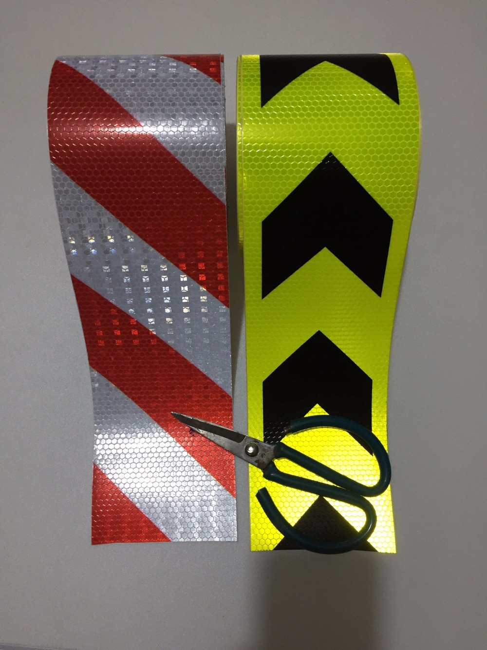 Clearance SaleConstruction-Site Reflective-Guide-Sign Warning-Tape Road Safety Self-Adhesive PVC Traffic