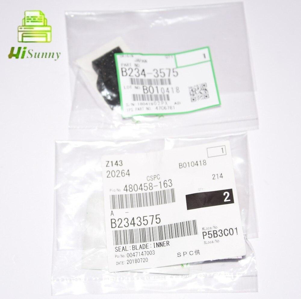 2 pcs oem brand new b234 3575 b2343575 para ricoh aficio mp 1100 1350 9000 inner