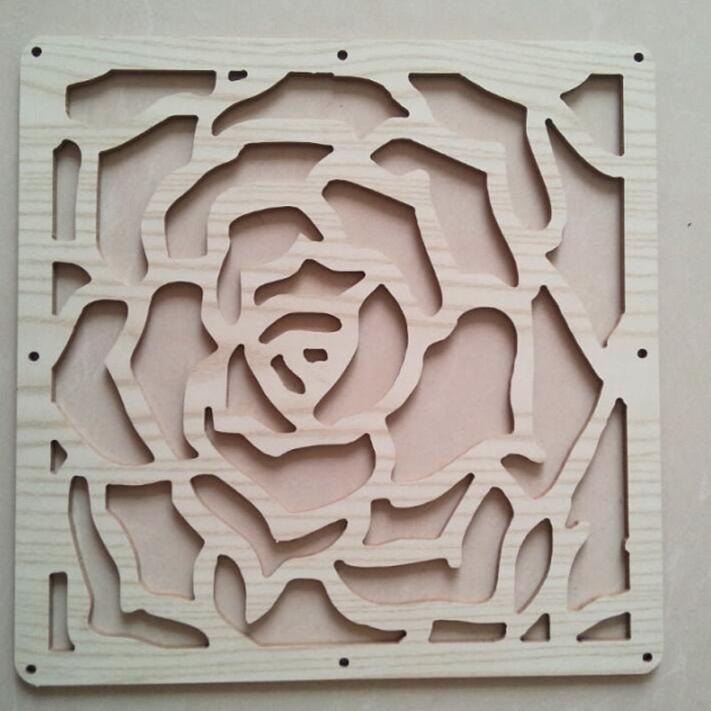 tabique de madera biombo tallado de alta calidad rose estilo panel de madera barato paravent biombo