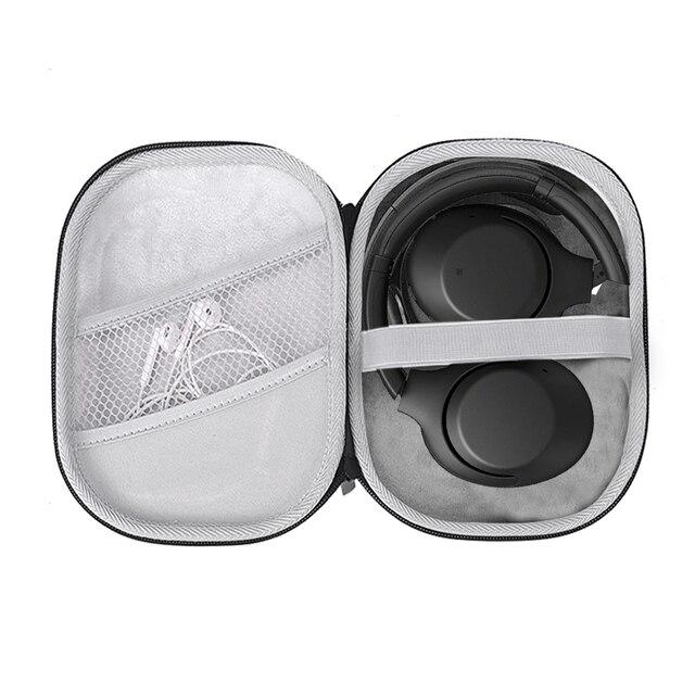 Koruyucu sert taşıma çantası Sony WH XB900N kablosuz gürültü iptal ekstra bas kulaklıklar Sony WH1000XM3 koruyucu seyahat çantası